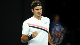 Berdych kann überragenden Federer nicht stoppen
