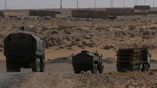 Den Dschihadisten bleibt nur noch die Wüste