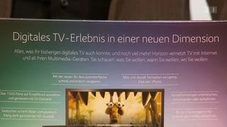 Cablecom-Ärger: Neue Horizon-Box enttäuscht Kunden