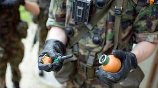 Armee vermisst neben Sprengstoff auch Handgranaten