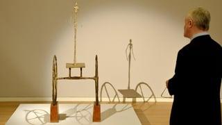 101 Millionen Dollar für Giacomettis «Chariot»