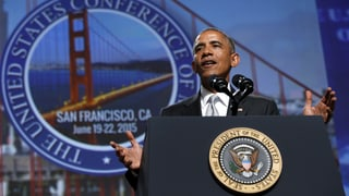 Obama fordert neues Waffengesetz