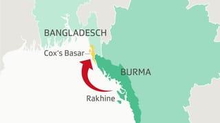 Die Flucht der Rohingya