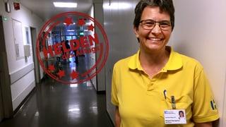 Margreth Baumgartner – als «Sonnenschein» im Spital