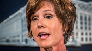 Procuratura publica generala Sally Yates relaschada