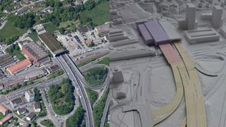 Neue Tunnel sollen Luzerner Verkehrsprobleme lösen