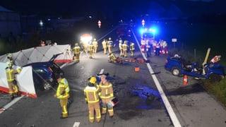 Tödlicher Verkehrsunfall auf der A8 bei Alpnach