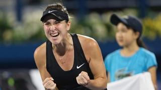 Bencic nach bärenstarker Leistung im Dubai-Final (Artikel enthält Video)