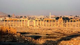 IS zieht laut Opposition wieder aus Palmyra ab