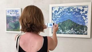 Fotografieren der Kunstwerke erlaubt