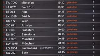 Hamburger Flughafen nimmt Betrieb wieder auf