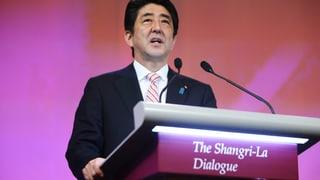 Japans Premierminister gibt China den Tarif durch