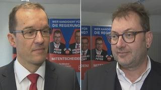 Thöny e Peyer sco candidats da la PS