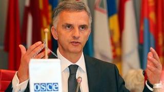 Burkhalter verteidigt OSZE-Mission