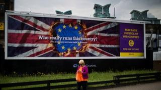 «Brexit» – die wichtigsten Fragen und Antworten
