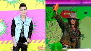 Kids Choice Awards: Johnny Depp und Luca Hänni ausgezeichnet