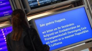 Pilots da la Lufthansa dastgan far chauma oz