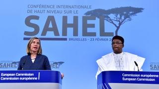 EU verdoppelt Unterstützung für Sahel-Truppe