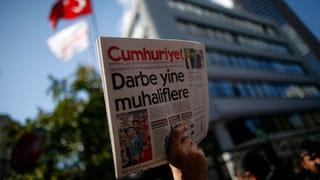 «Cumhuriyet»-Herausgeber in Istanbul festgenommen
