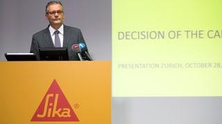 Sika-Streit geht in neue Runde