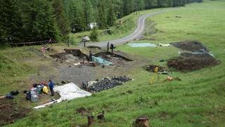Archeologs fan novas scuvertas en il Surses