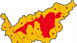 Grosse Waldbrandgefahr im Wallis
