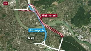 Osttangente in Basel: Weniger Stau durch Tunnel