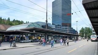 St. Gallen gestaltet Bahnhofplatz neu