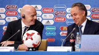 Fussball-WM in Russland verliert den OK-Chef