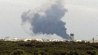 Rakete von SpaceX bei Test explodiert