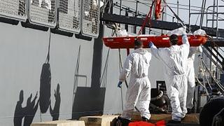 34 Tote nach erneutem Flüchtlingsdrama