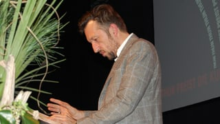 Lukas Bärfuss erklärt sein Verhältnis zu Thun