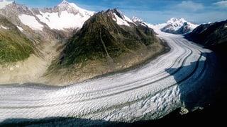 Video «Bergwelt Schweiz: Aletschgletscher – Das grosse Schmelzen (1/5)» abspielen