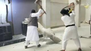 IS-Terroristen verwüsten Museum in Mossul