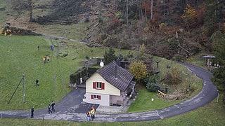 Haus im Weggiser Rutschgebiet wird abgerissen