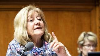 Susanne Leutenegger Oberholzer kündigt vorzeitigen Rücktritt an