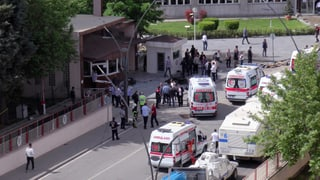 Autobombe gegen Polizeistation in der Südosttürkei