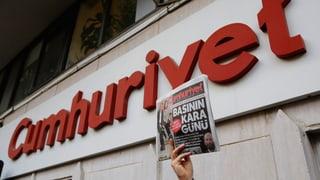 Chefredaktor in Haft – Anti-Erdogan-Zeitung in Bedrängnis