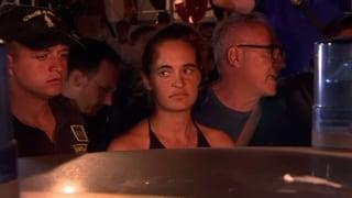 Hier wird die Kapitänin auf Lampedusa verhaftet
