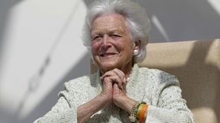 Barbara Bush mit 92 Jahren gestorben
