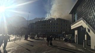Posthotel Arosa: Il fieu è sut controlla, l'hotel è ina ruina