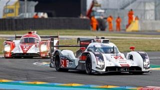 Marcel Fässler fährt in Le Mans zum 3. Sieg