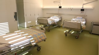 Spital Glion: chombras adattadas al temp