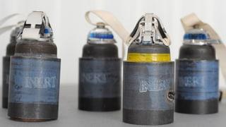 Schweiz entsorgt ihre Streumunition