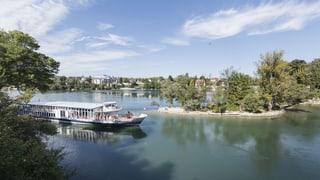 Das Wasser fehlt: Keine Schiffe in Rheinfelden