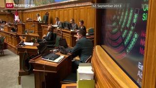 Im Parlament sind die Meinungen zu Pensionskassen-Bezügen gemacht