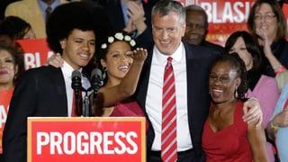 Ein Demokrat erobert New York