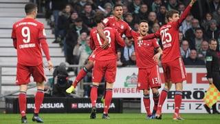 Gnabry rettet die Bayern mit Doppelpack