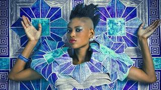Zeitgenössisches afrikanisches Design regt zum Denken an