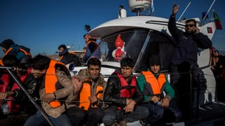 Woher Flüchtlinge nach Europa kommen